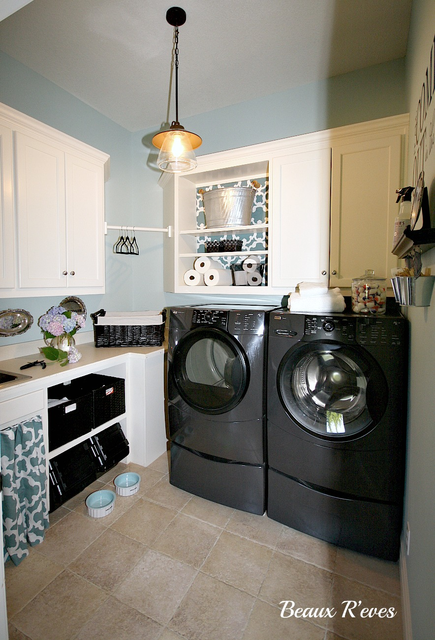 beaux r 39 eves laundry room makeover