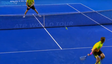 Ryan Harrison Flick Shot