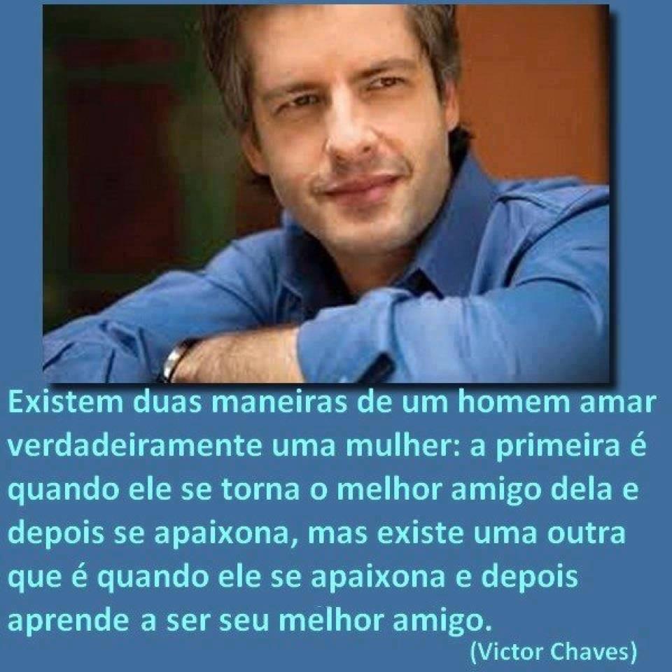 Fã Sertanejo: Victor Chaves - cantor, poeta, pensador