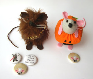 Topo Halloween e Chewbacca di The House of Mouse