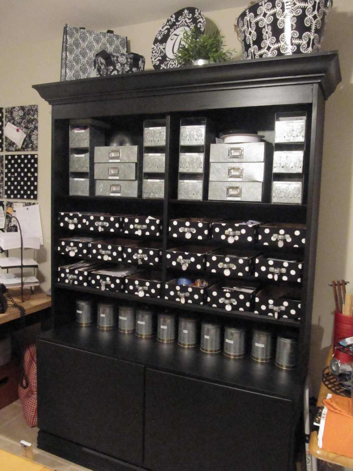 Sewing Room Storage Cabinets Sew Many Ways Organize Your Lifeone Spot At A Time