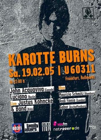 No Rockstars Karotte Burns U60311 Frankfurt 19 02 2005
