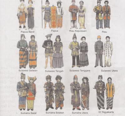 Nama Pakaian Adat Tradisional Seluruh Indonesia Terbaru 2014