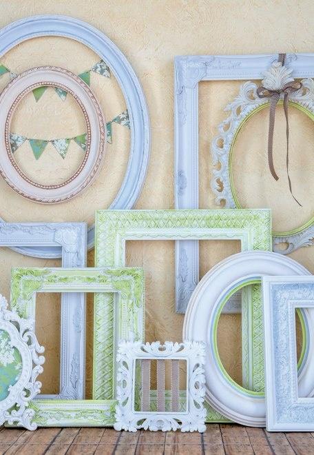 Specchi e cornici idee per arredare for Cornici per quadri shabby chic