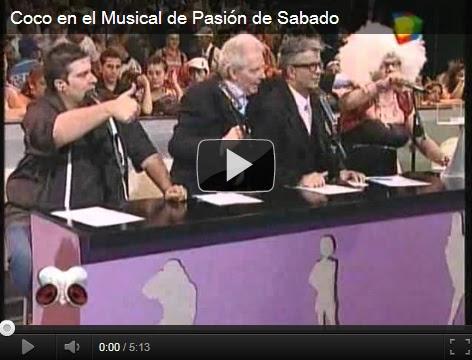 EL MUSICAL DE COCO EN PASION DE SABADO