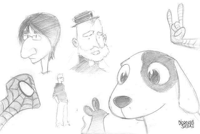 sketch by Lorenzo Sabia