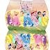 Princesas Disney: Caja Almohada para Imprimir Gratis.