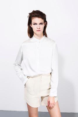 Shorts, white and cream