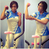Chika Ike shares sexy workout photos