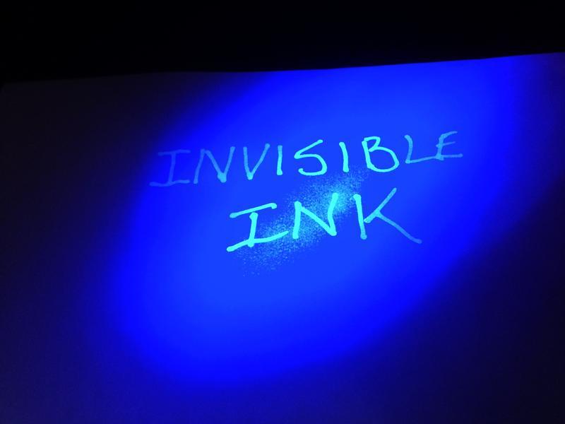 make an invisible ink. Black Bedroom Furniture Sets. Home Design Ideas