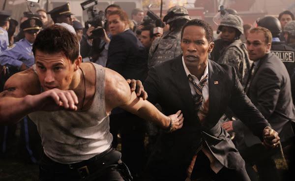 White House Down (Asalto a la Casa Blanca), con Channing Tatum y Jamie Foxx