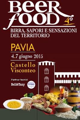 BeerFood  dal 4 al 7 giugno Pavia