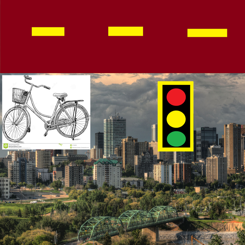 Cycling in Edmonton from the Eyes of a Teen