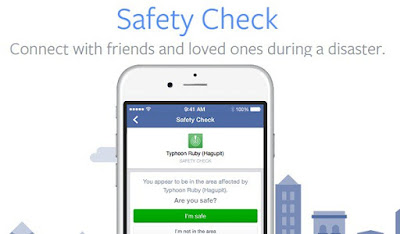 How to use facebook safety check