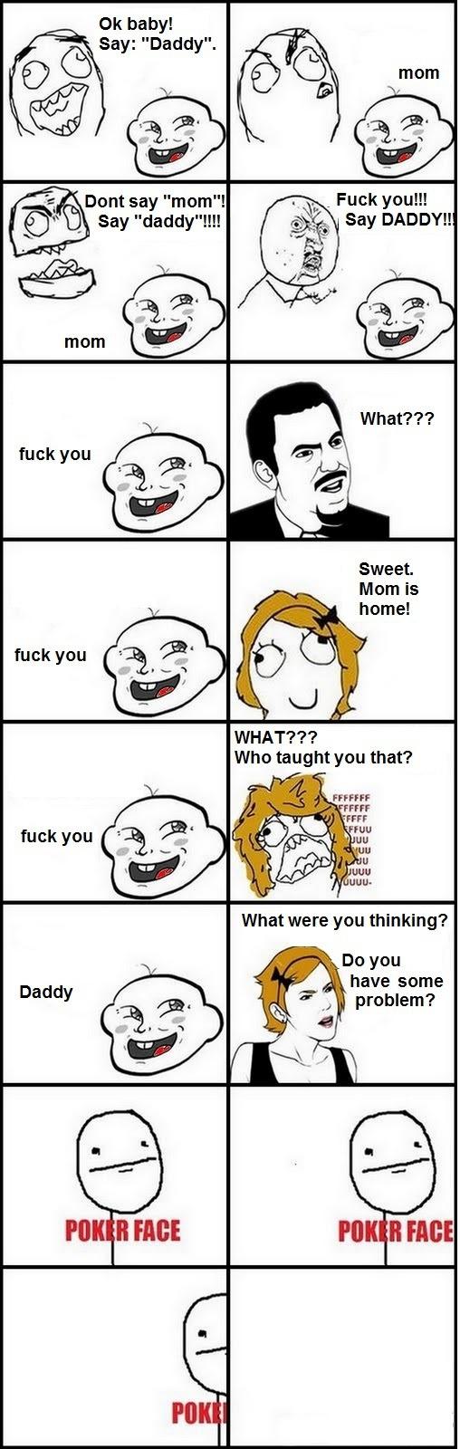 Troll Baby  - Trolling Daddy!