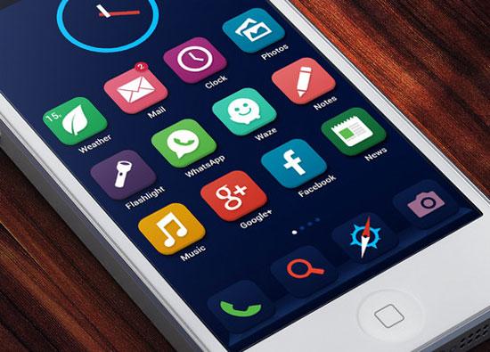 iOS 7 Concept by Ariel Verber