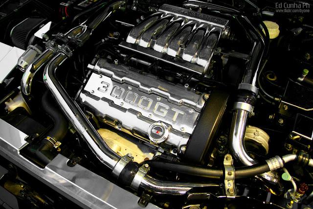 Mitsubishi 3000GT, GTO, japoński, sportowy samochód, grand tourer, twin turbo, silnik