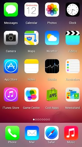 iOS 7 Launcher 1.0.4 APK