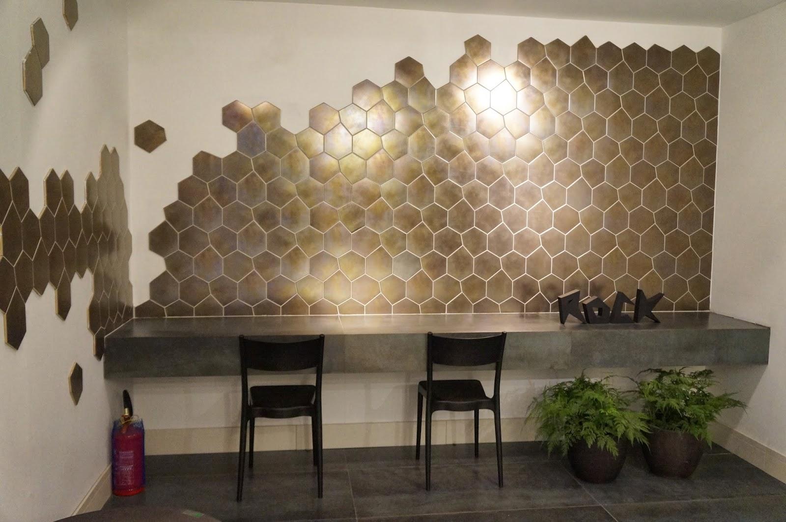 Ambientes com azulejos multifacetados da Portobello - Expo Revestir 2014