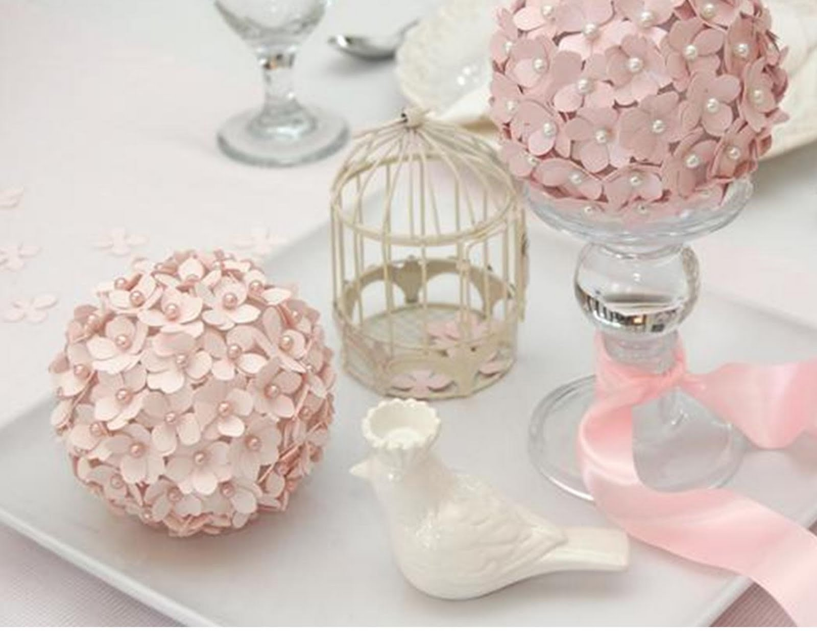 The awesometastic bridal blog diy paper pomander flower balls diy paper pomander flower balls mightylinksfo Choice Image