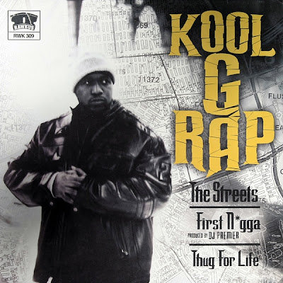 Kool G Rap – The Streets / First Nigga / Thug For Life (Promo CDS) (2001) (192 kbps)