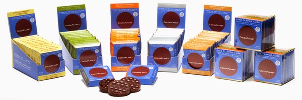 CocoaPlanet premium dark chocolates