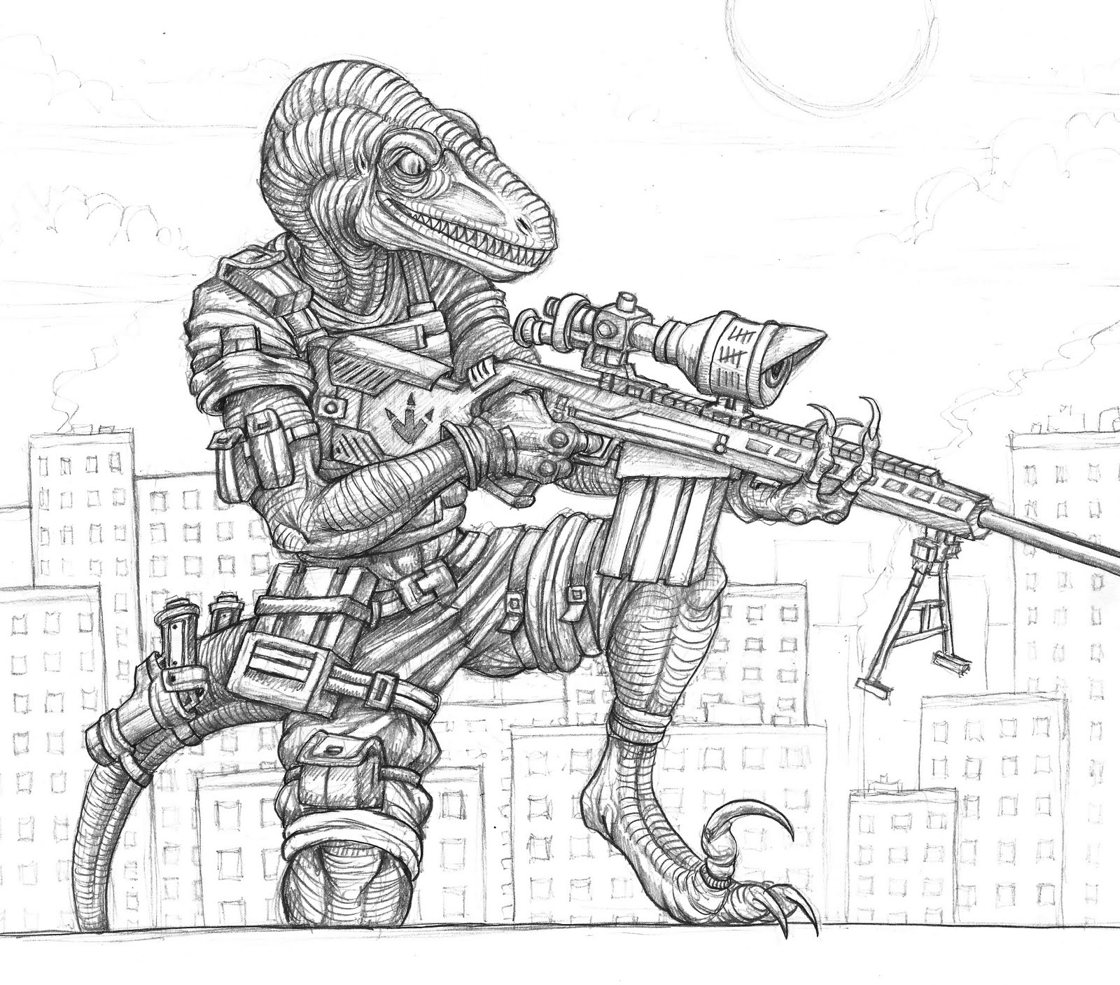 free coloring pages of raptor