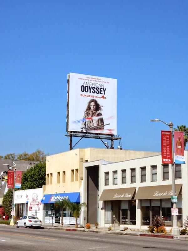 American Odyssey billboard