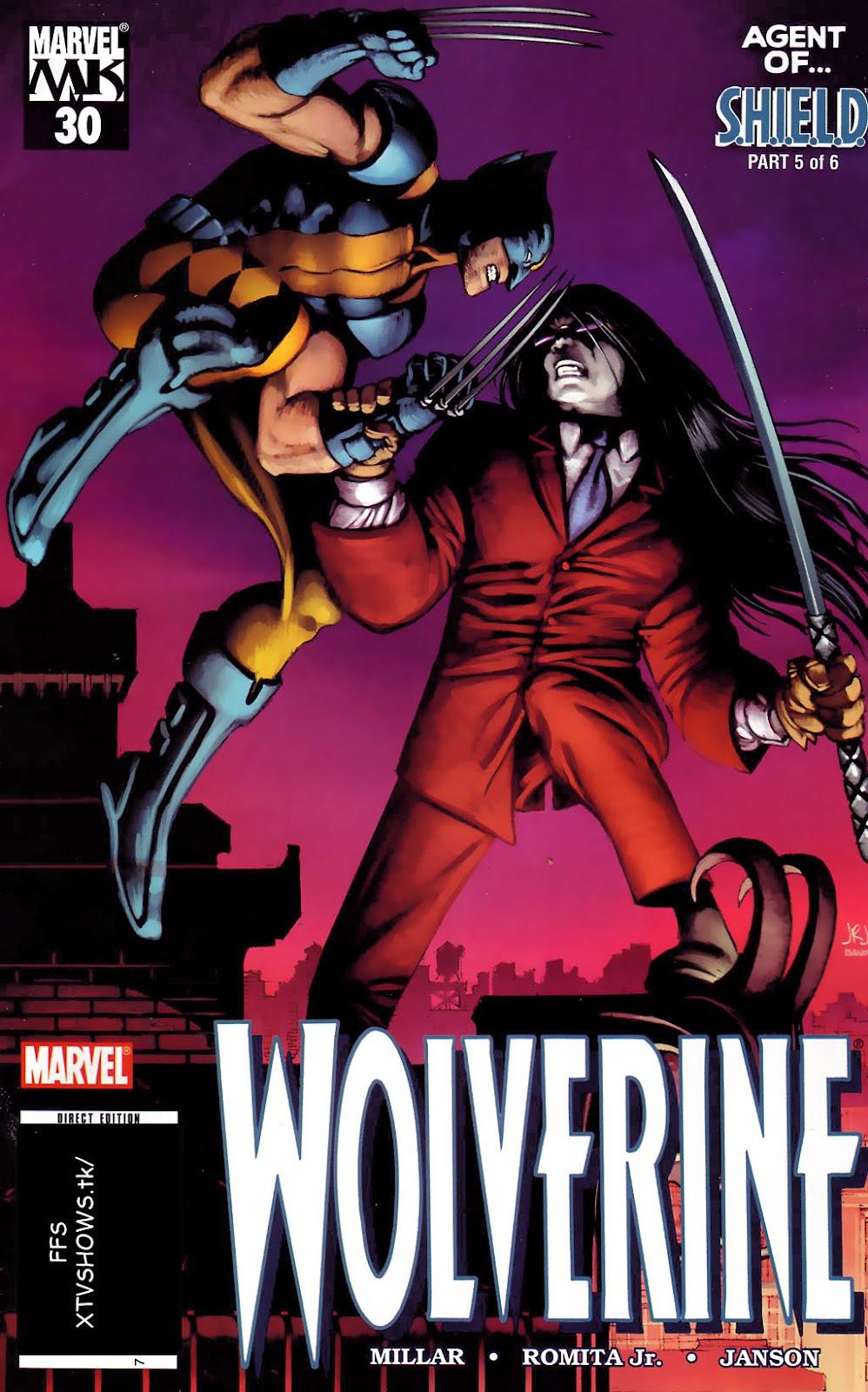 Read online Wolverine (2003) comic -  Issue #30 - 1