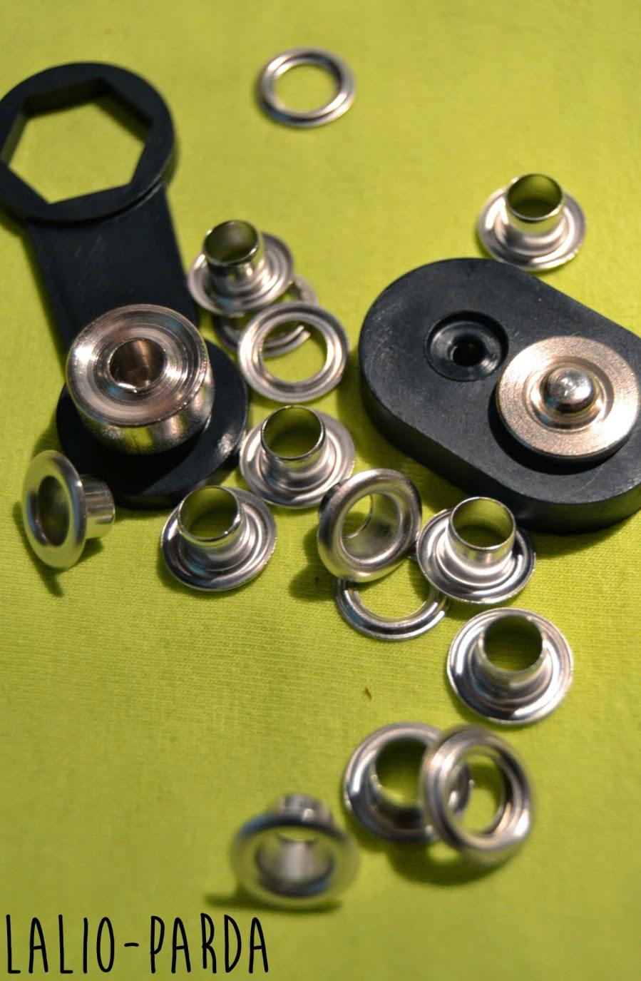 La lio como poner ojales metalicos for Ojales para toldos