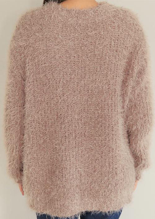 Furry Knit Sweater