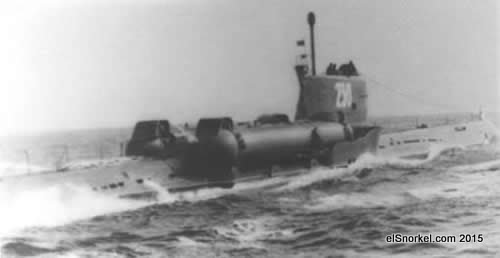 Submarino Whiskey 'Twin Cylinder