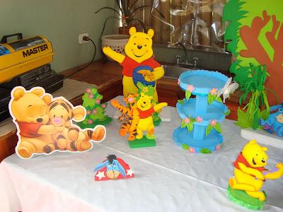 Winnie pooh caritas fiestas infantiles for Decoracion winnie pooh para fiesta infantil