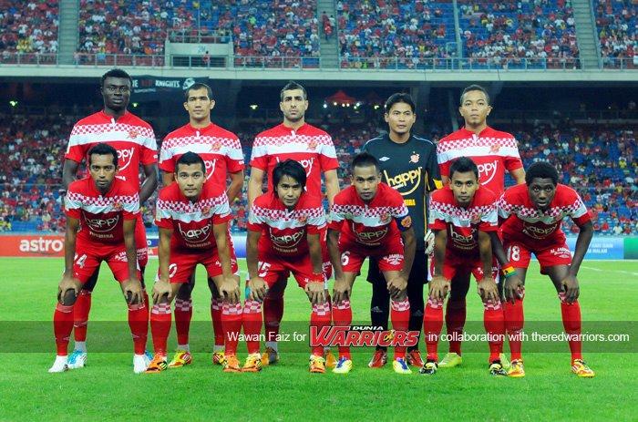 Kesebelasan Utama Kelantan vs Malaysia.