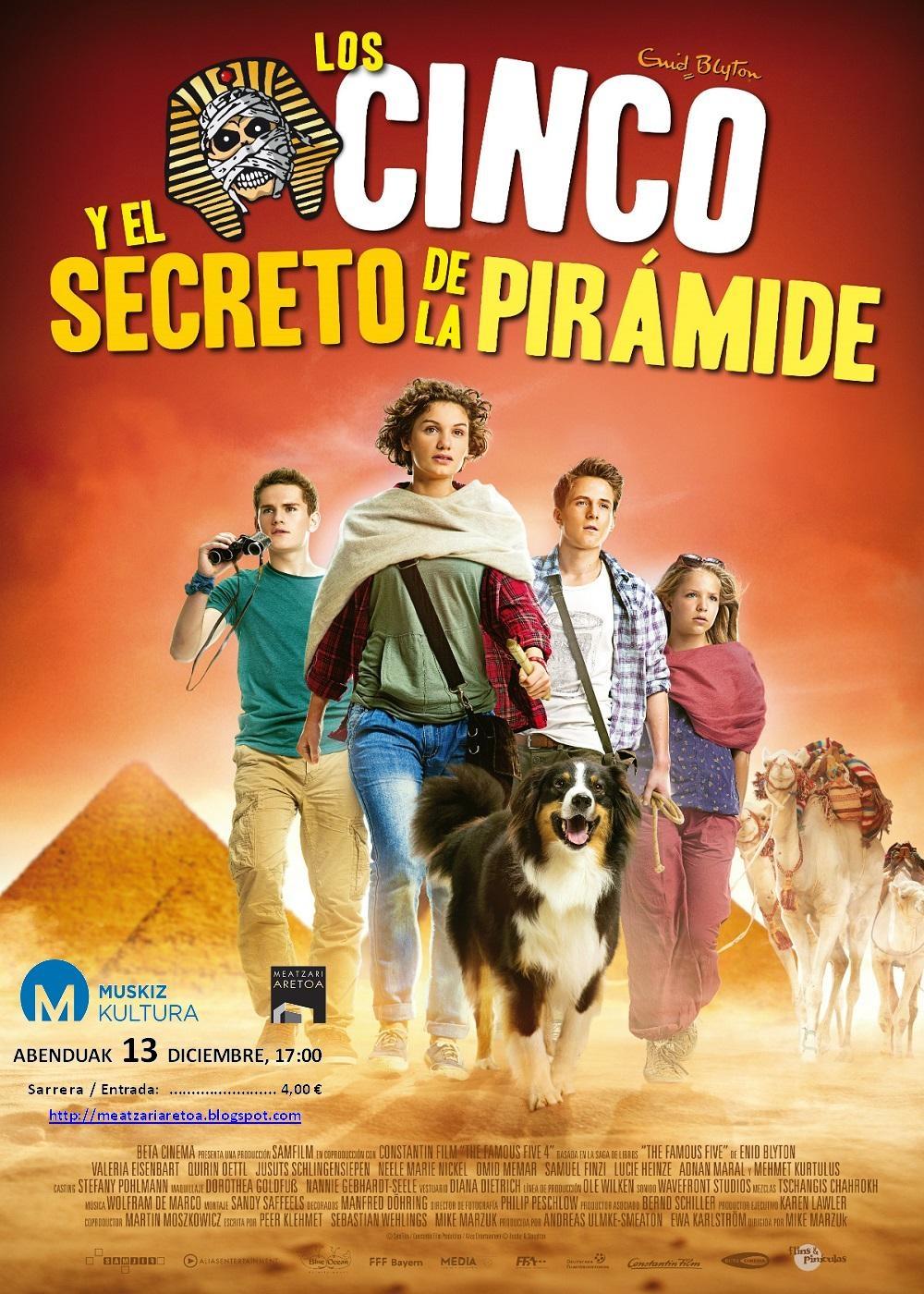 Los cinco y el secreto de la pirámide (2015)