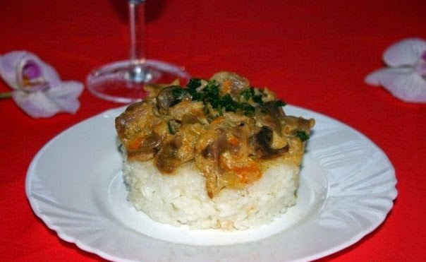 Chicken Gizzards Stewed In Sour Cream Recipe Food Network Recipes