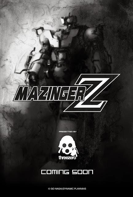 ThreeZero Mazinger Z Teaser Image