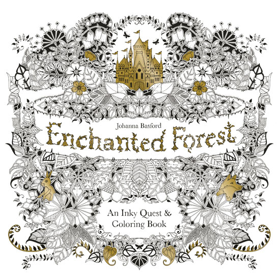 I Have Just Recently Joined The Adult Coloring Book Craze Specifically One Of Johanna Basfords Entitled Enchanted Forest Seen Above