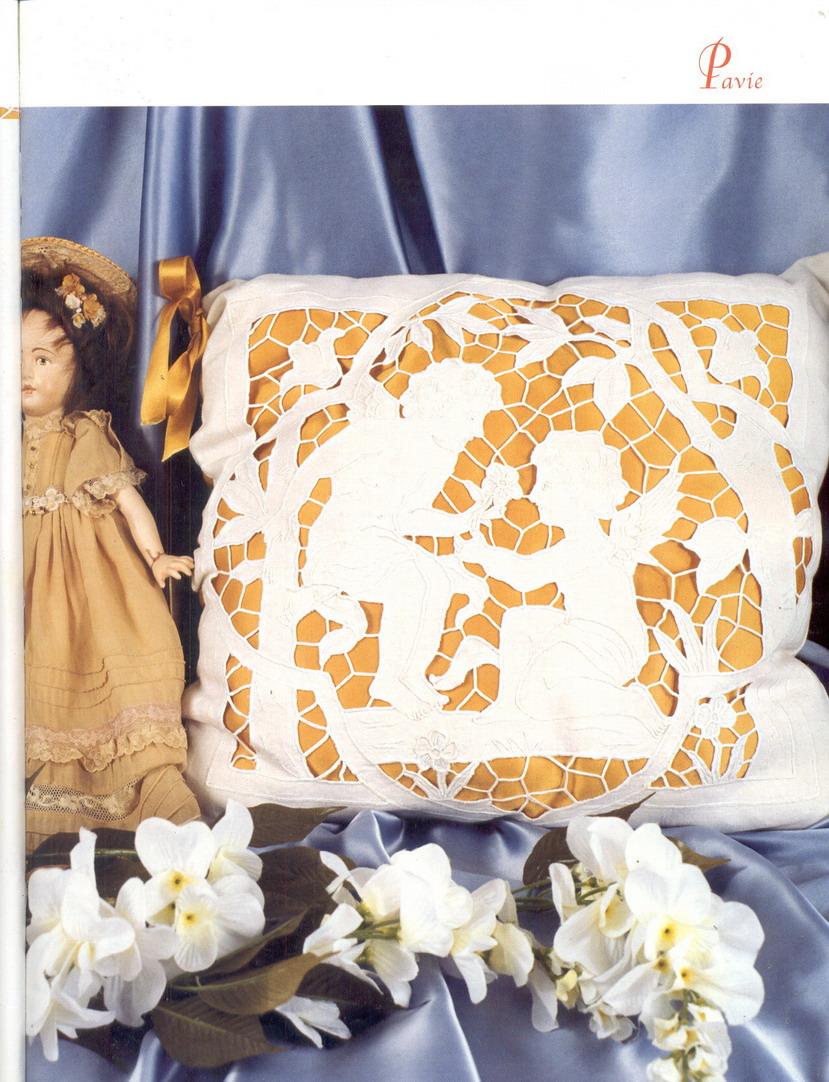 схема вышивки ангела ришелье