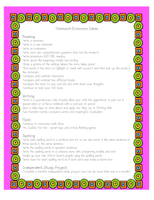 Homework: A Guide for Parents