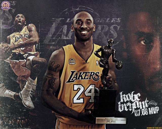 Kobe Bryant MVP wallpaper