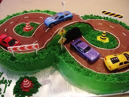 Speed Racer Birthday Cake Ideas Race Car Birthday Cake Pictures