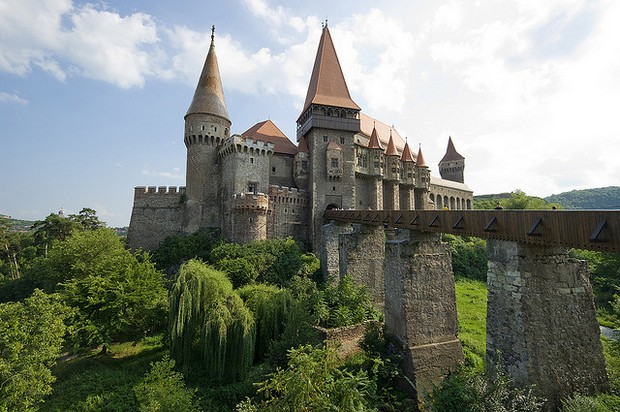 The castle of Hunedoara