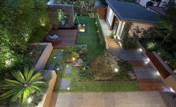 Desain Taman Terindah Rumah Modern