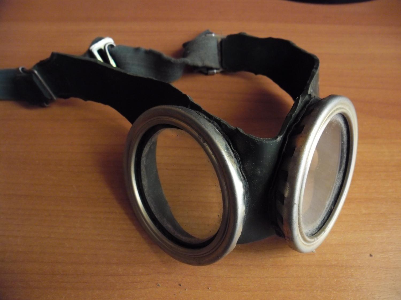 Защитные очки для мастера из противогаза
