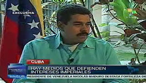 VEAN EN TELESUR LO QUE MADURO DECLAR SOBRE LA SALUD DEL PRESIDENTE CHVEZ