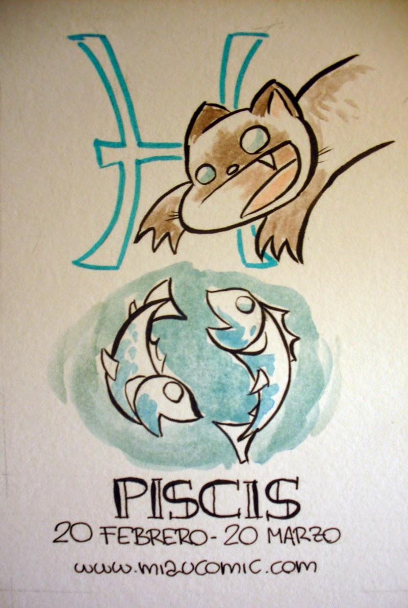 Zodiaco Gatuno signo de Piscis