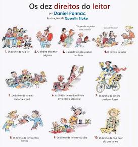 OS 10 DIREITOS DO LEITOR