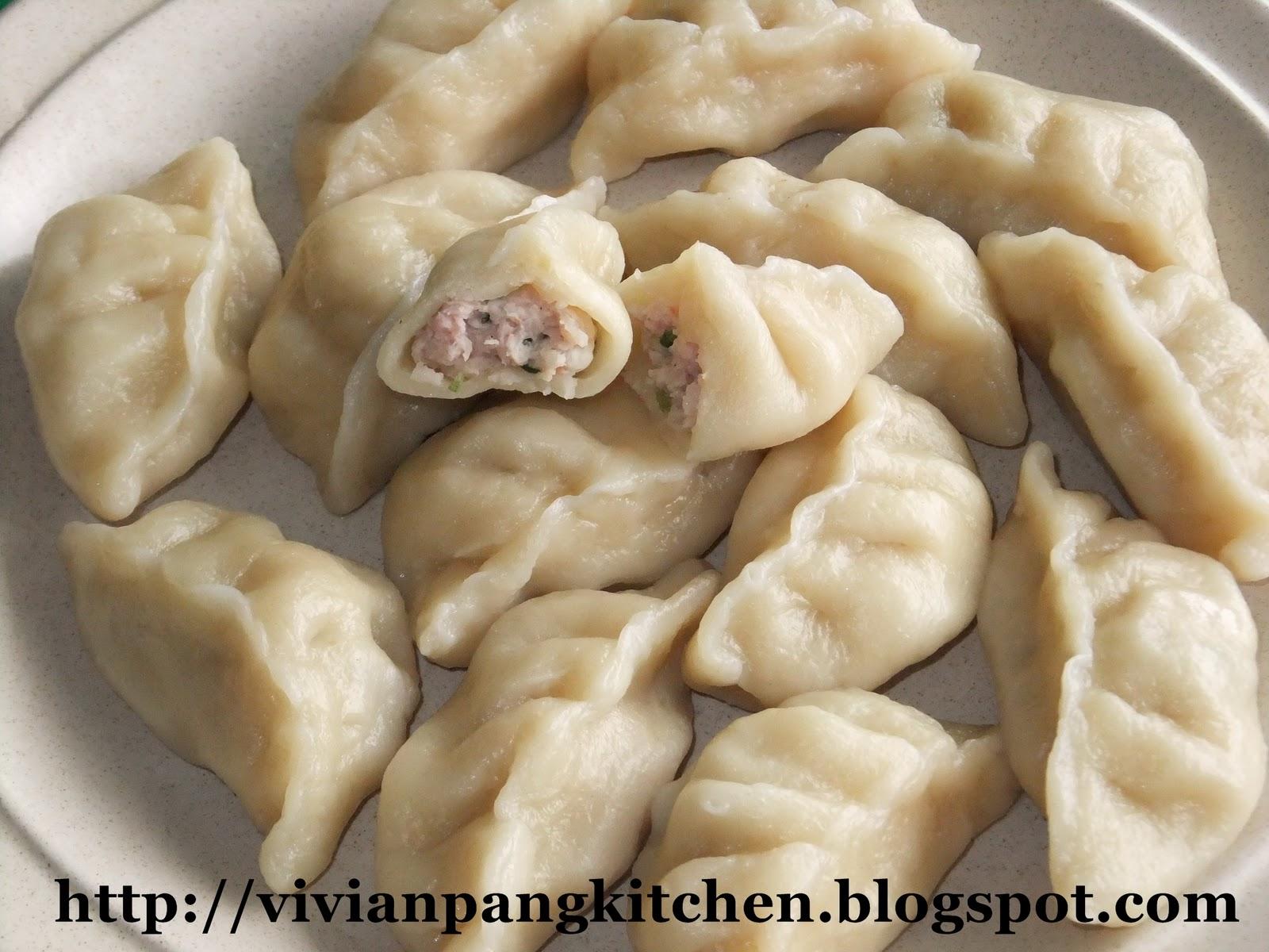 Vivian Pang Kitchen: Dumplings (Shanghai Jiaozi-饺子)