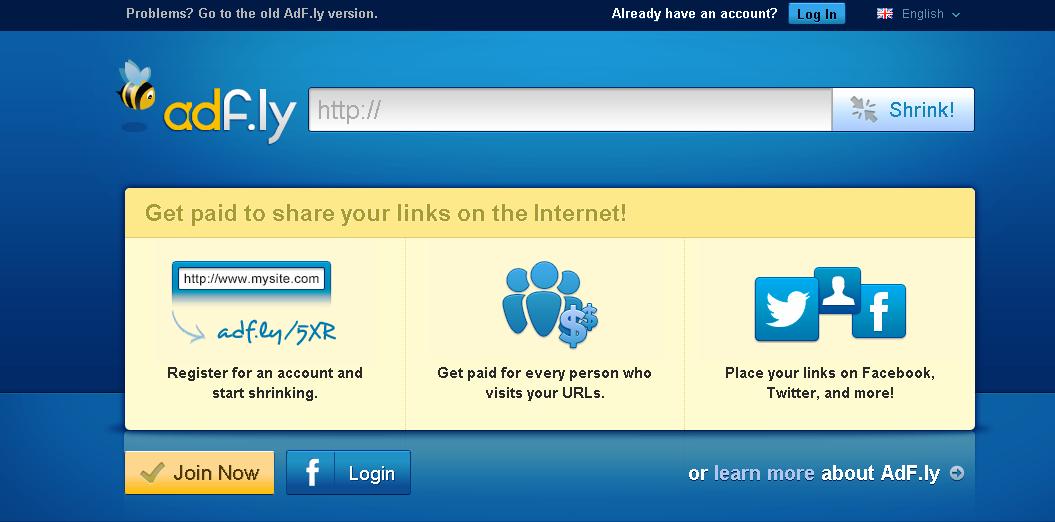 Hướng dẫn cách kiếm tiền bằng link rút gọn adf.ly
